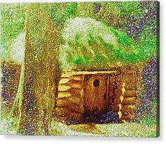 The Hideaway Of Bilbo Baggins Acrylic Print by Mario Carini