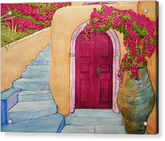 The Hideaway Acrylic Print by Rand Swift