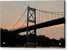 The High Level Aka Anthony Wayne Bridge I Acrylic Print