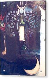 The High Priestess Acrylic Print by Erika Brown