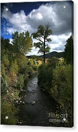 The High Road To Taos Acrylic Print