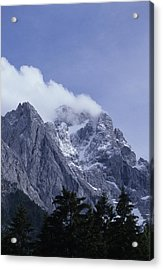 The Highest Mountain In Germany, Der Acrylic Print