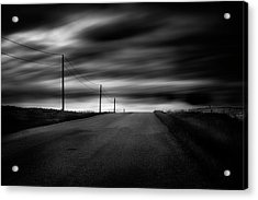 Acrylic Print featuring the photograph The Highway by Dan Jurak