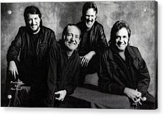 The Highwaymen  Acrylic Print by Garland Johnson