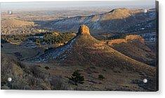 The Hills Above Lyons Acrylic Print