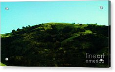 The Hills Acrylic Print by Jamey Balester