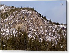 Acrylic Print featuring the photograph The Hills by Josef Pittner