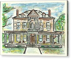 The Historic Dayton House Acrylic Print by Matt Gaudian