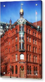 The Historical Trust  Acrylic Print by Steven Digman
