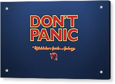 The Hitchhiker's Guide To The Galaxy Acrylic Print