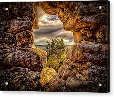 Acrylic Print featuring the photograph The Hole In The Wall by Chris Cousins