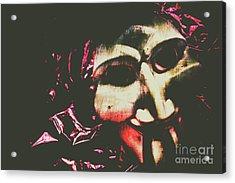 The Hollywood Freak Show Acrylic Print
