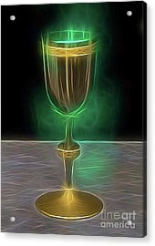 The Holy Grail By Raphael Terra Acrylic Print