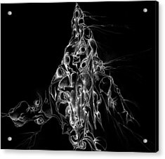 The Holy Mountain Inverted Acrylic Print by Bodhi