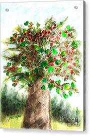 The Holy Oak Tree Acrylic Print