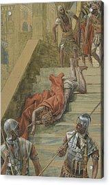 The Holy Stair Acrylic Print