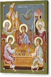 The Holy Trinity Acrylic Print by Julia Bridget Hayes