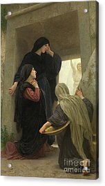 The Holy Women At The Tomb Of Christ Acrylic Print