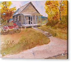 The Home Place Acrylic Print by Kris Dixon