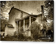 Acrylic Print featuring the photograph The Home Place by Pete Hellmann
