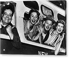 The Honeymooners, C1955 Acrylic Print