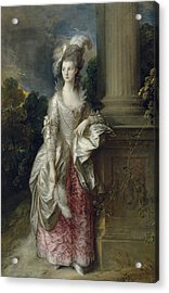 The Honourable Mrs Graham  Acrylic Print by Thomas Gainsborough