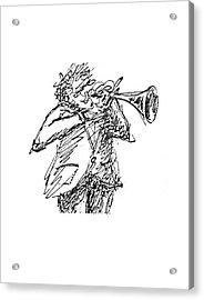 The Hornblower Acrylic Print by Sam Chinkes