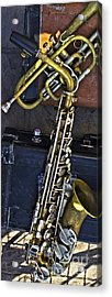 The Horns Acrylic Print by Steven Parker