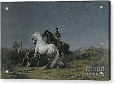 The Horse Thieves Acrylic Print