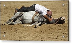 The Horse Whisperer Acrylic Print by Venetia Featherstone-Witty