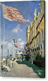 The Hotel Des Roches Noires At Trouville Acrylic Print
