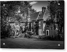 Acrylic Print featuring the photograph The House At Beech Court Gardens by Ryan Photography
