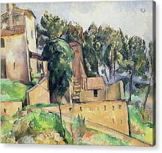 The House At Bellevue Acrylic Print by Paul Cezanne