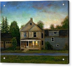 The House Next Door Acrylic Print by Wayne Daniels