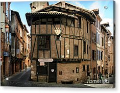 The House Of The Old Albi Acrylic Print by RicardMN Photography