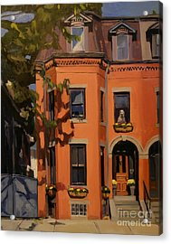 The House Sitter Acrylic Print by Deb Putnam