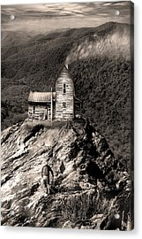 The House Time Forgot Acrylic Print by Gray  Artus