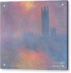 The Houses Of Parliament London Acrylic Print