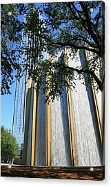 The Houston Water Wall And Williams Tower Acrylic Print