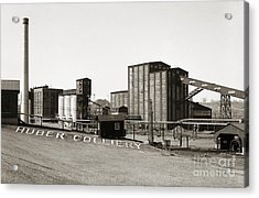 The Huber Colliery Ashley Pennsylvania 1953 Acrylic Print