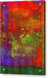 The Human Spirit Acrylic Print by Angela L Walker
