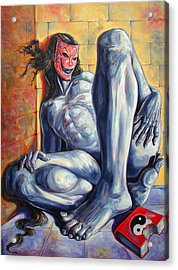 The Hunger Of The Eve Acrylic Print by Darwin Leon