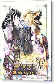 The Hunt Acrylic Print