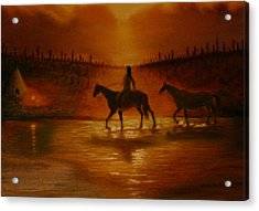 The Hunter Returns Acrylic Print