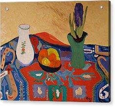 The Hyacinth  By Bill O'connor Acrylic Print