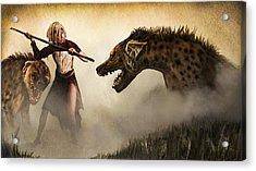 The Hyaenodons - Allie's Battle Acrylic Print