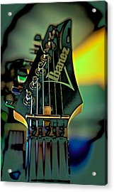 The Ibanez Acrylic Print by David Patterson