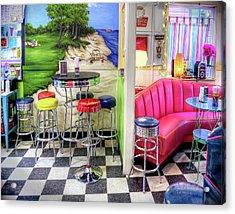 The Ice Cream Shoppe In Duval, Wa Acrylic Print