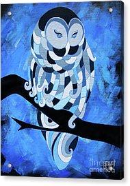 The Ice Owl Acrylic Print