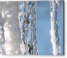 The Iceman Screameth Acrylic Print by Roxy Riou